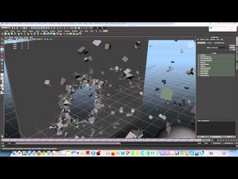 The Ninja Boy - Ncloth dectruction tutoriel (Maya)