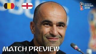 Roberto MARTINEZ - Belgium v England Preview - 2018 FIFA World Cup™