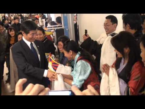 Sikyong Dr. Lobsang Sangay La Arrived In Belguim