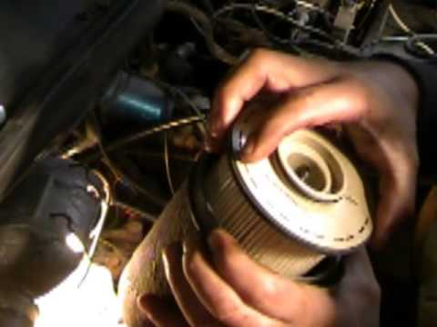 How to change a fuel filter on your 24 valve 5.9 cummins
