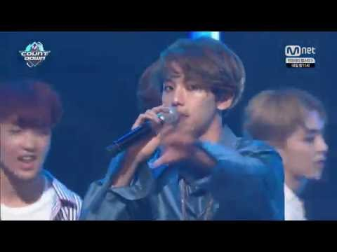 160825 Mnet M! Countdown EXO - No 1 Encore