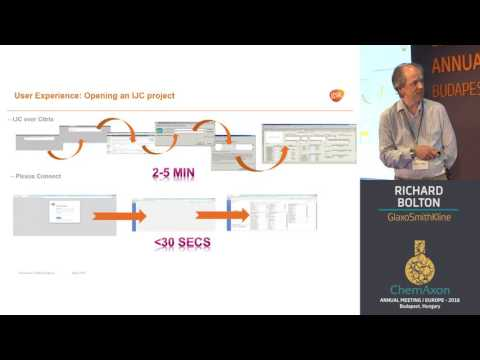 Richard Bolton (GlaxoSmithKline): Rollout of Plexus Connect at GSK, a brief history and update