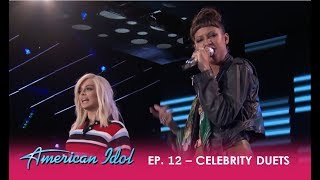 "Download Lagu Amelia Harris & Bebe Rexha Hip-hop Duet ""Me, Myself & I"" By G-Eazy and Rexha  | American Idol 2018 Gratis STAFABAND"