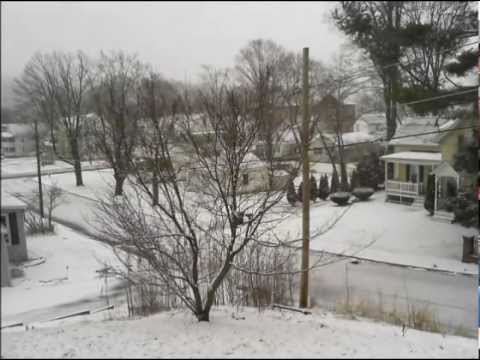 Snow Storm Nemo Time Lapse - February 2013 Blizzard