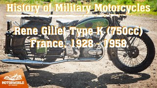 "René Gillet 750  (France) Trial by ""The Motorworld by V.Sheyanov"" (Russia)"