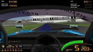 [Game][Racing] GTR2 Driving School Track Work Techniques 1 Basics - 2 Braking - Level 2 Observe