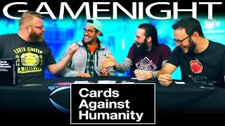 Cards Against Humanity GAME NIGHT!!