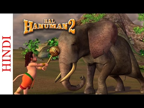 Bal Hanuman 2 - Bal Hanuman Vs The Elephants video