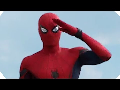 "CAPTAIN AMERICA Civil War - ""Hey Captain, Big Fan!"" - SPIDER-MAN Tv Spot [New HD Footage]"