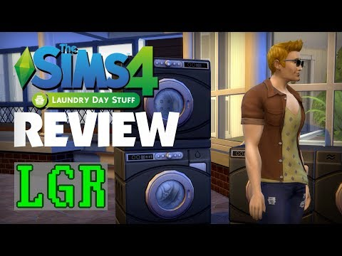 LGR - The Sims 4 Laundry Day Stuff Review