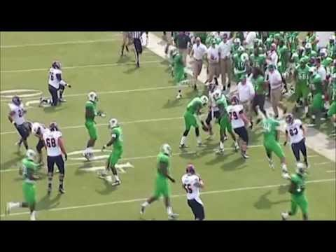 Alex Bazzie OLB/DE Marshall University Highlights #53 Coaches Full