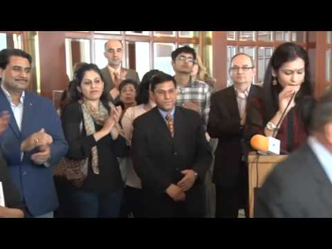Inauguration of 'Egg-Stravaganza' - Farha Sayeed's Egg Art Exhibition in Chicago