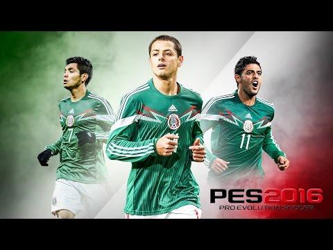 150 SUB! #PES 2016 copa internacional MEXICO vs Brasil