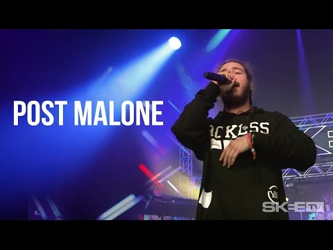 """Post Malone """"White Iverson"""" - First ever TV performance Live on SKEE TV"""
