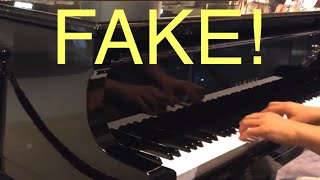 Fake Professional Piano Player