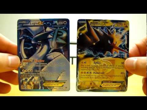Rare Pokemon Cards:  EX and EX FULL ART