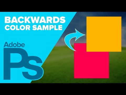 0 Color Sample is BACKWARDS in Photoshop?!