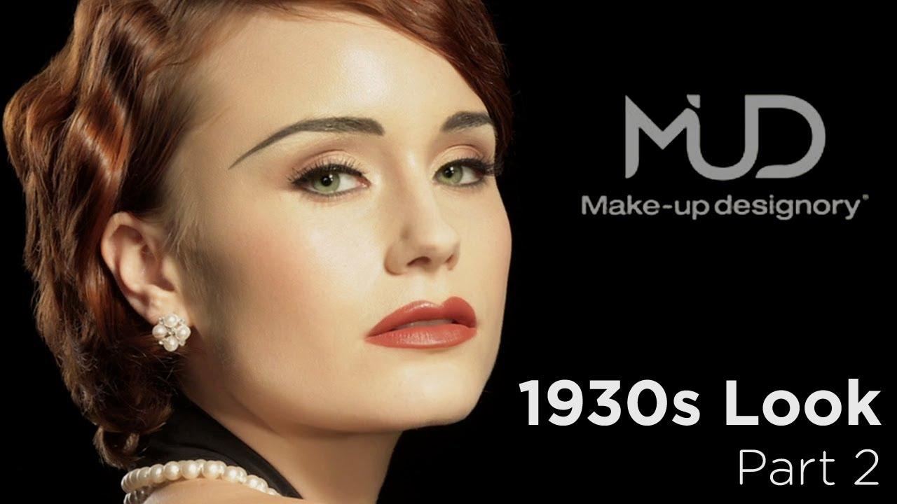 Vintage Makeup Tutorial Classic 1930 S Look Part2