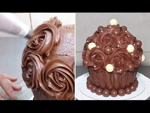Giant Cupcake Recipe Chocolate Giant Chocolate Cupcake