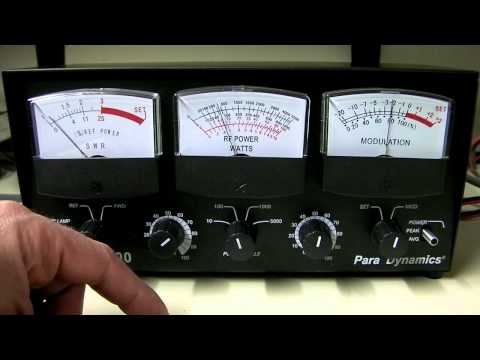 Astatic 600 Para Dynamics 3 Window SWR Wattage Modulation CB Meter Overview