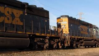 CSX Switching at Elsmere Yard, Delaware