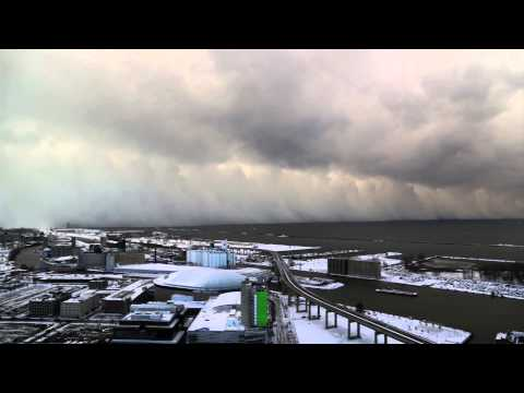 Timelapse video of New York snowstorm