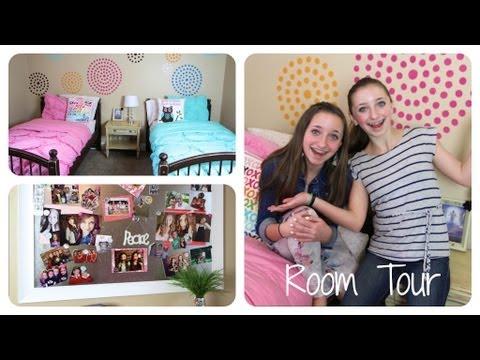 Teen Girl Room Tour | Brooklyn And Bailey video