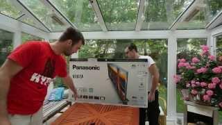 01. Panasonic Viera 40CXW704 Unboxing [4K UHD]