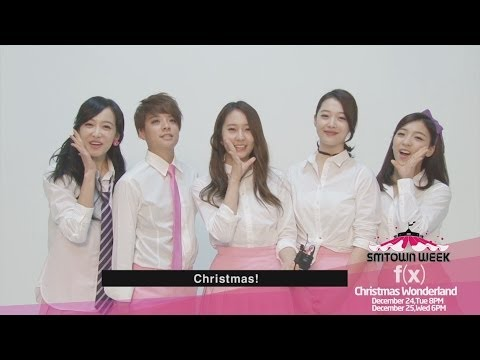 "SMTOWN WEEK f(x) & EXO ""Christmas Wonderland""_f(x) Interview"