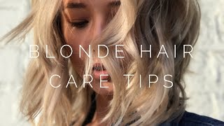 How To Care For Blonde Hair - Top 10 Tips For Hair Care | Aja Dang