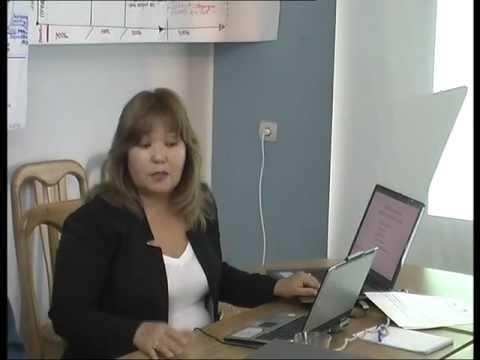 Выступление Кайши Атахановой на 4-ой Региональной Встрече МЭСЦА