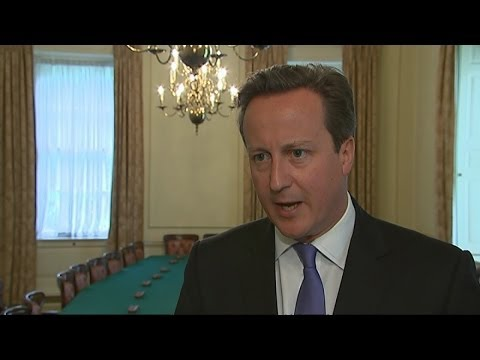 Cameron 'extremely sorry' for employing Andy Coulson