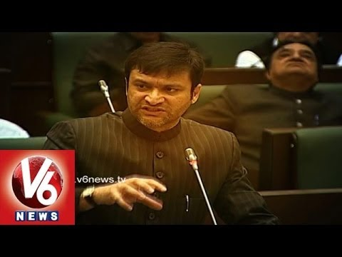 MIM Leader Akbaruddin Owaisi Speech In Assembly
