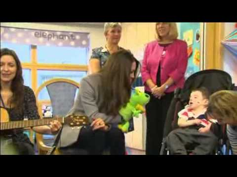 Catherine Duchess Of Cambridge Sings With Sick Children At Hospice