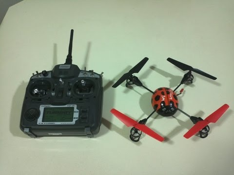 How to Bind the V929 Quadcopter with the Turnigy 9X Transmitter - Step by Step guide