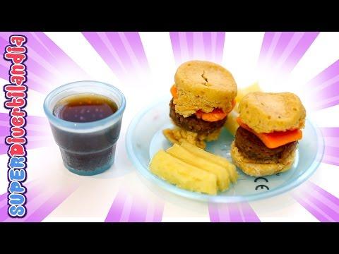 Yummy Nummies Burger. Popin Cookin hamburguesa miniatura Divertilandia!