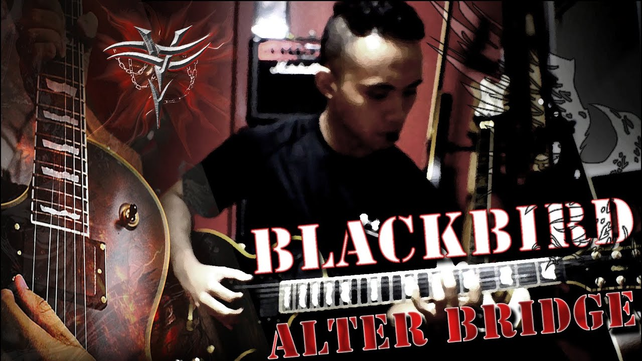 how to play blackbird alter bridge on guitar