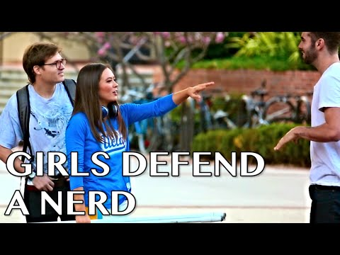Girls Defend A Nerd w/ KC James & Jordan Burt
