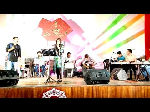 Surumi Song Kanaka Punjiri At Gowri Fest Palakkad video