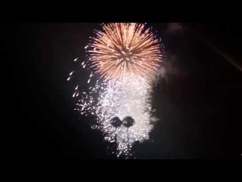 Fireworks Show Rancho Mirage 2014, College of the Desert