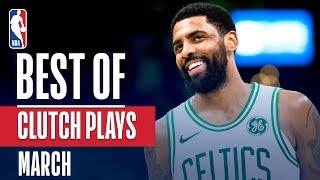 NBA's Best Clutch Plays | March 2018-19 NBA Season