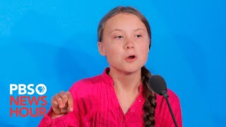 WATCH: Greta Thunberg's full speech to world leaders at UN Climate Action Summit