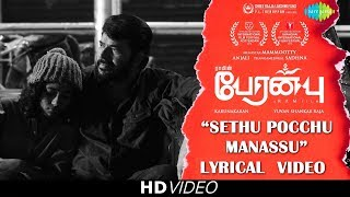 Setthu Pocchu Manasu - Lyrical Video | Peranbu