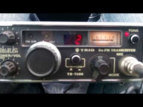 Kenwood Trio TR 7500 2m FM VHF Mobile Transceiver