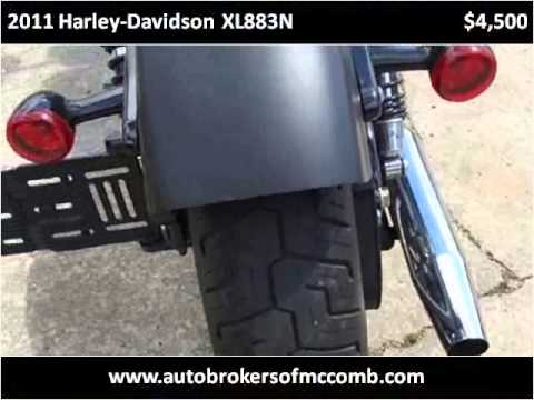 2011 Harley-Davidson XL883N Used Cars McComb MS