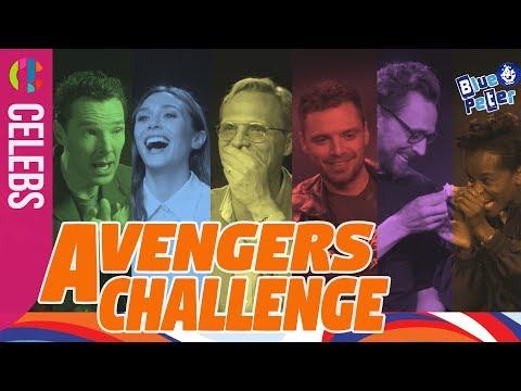 "Avengers Infinity War | Stars Play The Six ""InFUNity"" Stones Challenge"