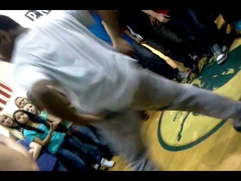 Perry meridian middle school students dancin
