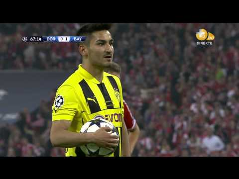 CHAMPIONS LEAGUE FINAL 2013 - İlkay Gündoğan GOAL 1-1 PENALTY HD
