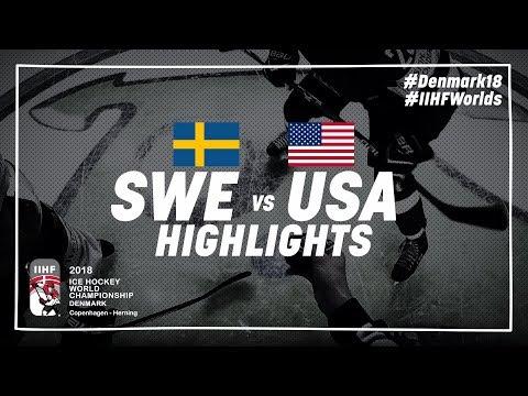 Game Highlights: Sweden vs USA | #IIHFWorlds 2018