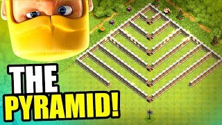 THE PYRAMID!! CAN IT BE DEFEATED!? - Clash Of Clans